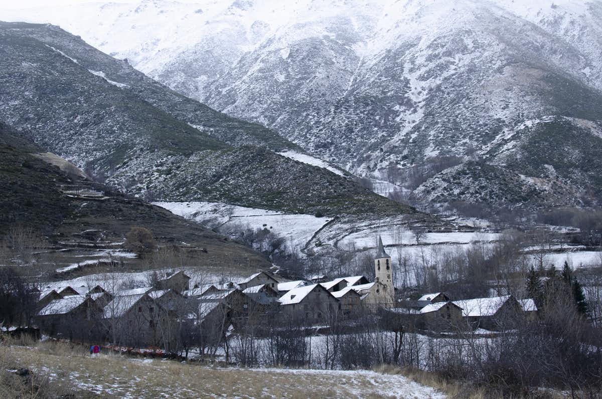 scenic villages of Catalan pyrenees