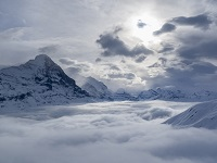 grindelwald small cloud cover